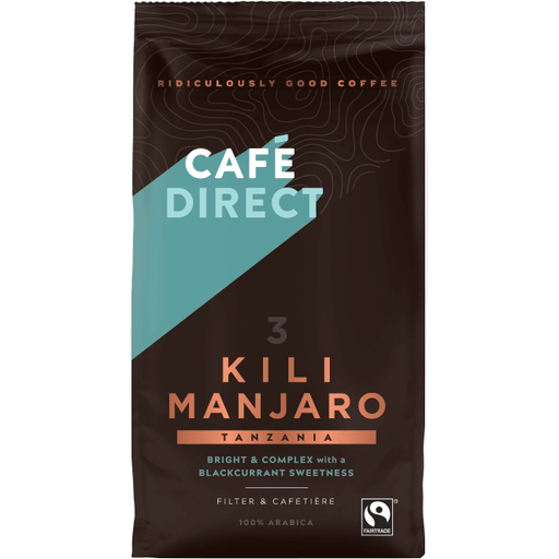 Café Direct Kilimanjaro Kaffe, Fairtrade 227g - GreenOS.dk - greenos