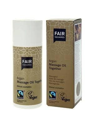 FAIR SQUARED, massage oil - together,150 ml