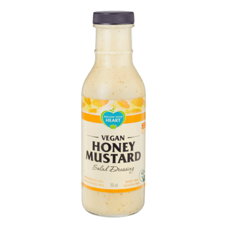 Follow Your Heart Dressing Vegansk Honey Mustard, 355 mL. - GreenOS.dk