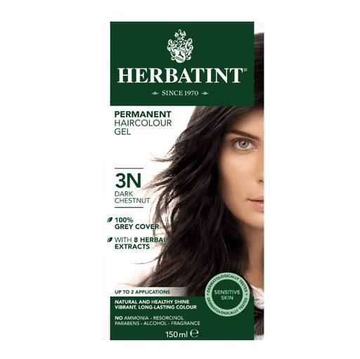 Herbatint 3N Hårfarve, Dark Chestnut. - greenos