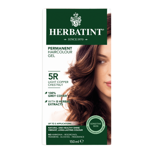Herbatint 5R Hårfarve, Light Copper Chestnut. - GreenOS.dk