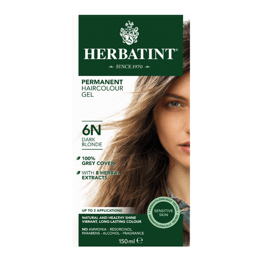 Herbatint 6N Hårfarve, Dark Blonde. - greenos