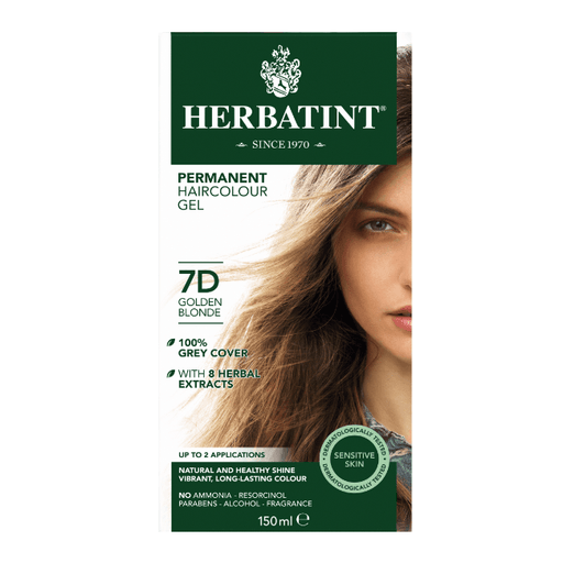 Herbatint 7D Hårfarve, Golden Blonde. - greenos