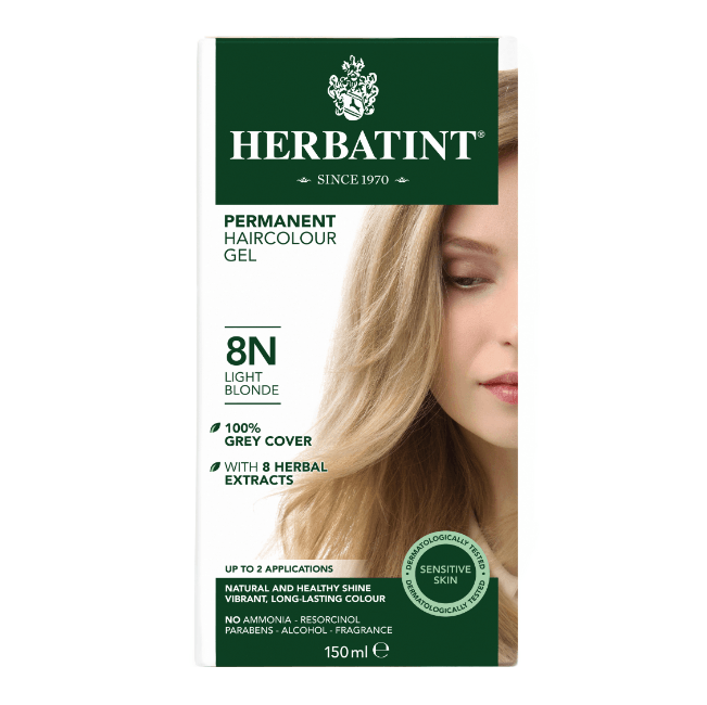 Herbatint 8N Hårfarve, Light Blonde. - GreenOS.dk
