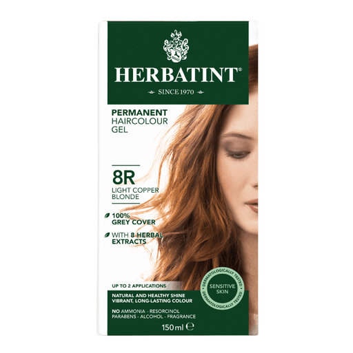 Herbatint 8R Hårfarve, Light Copper Blonde. - greenos