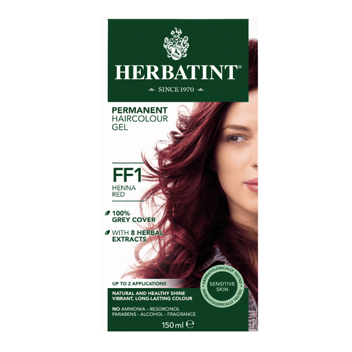 Herbatint FF1 Hårfarve, Henna Red. - greenos