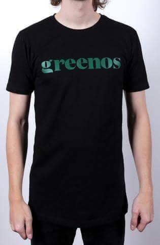GreenOS T-shirt til Mænd, Sort. - greenos