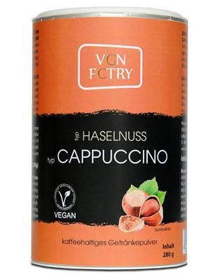 VGN instant cappuccino med hasselnød , 280g - greenos