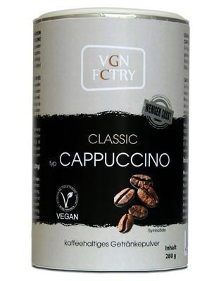 VGN instant cappuccino classic, med mindre sukker, 280g - greenos