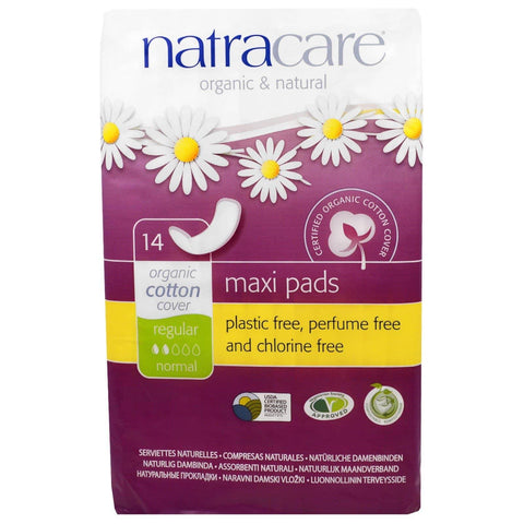 Natracare Maxi Bind Regular, 14 stk.