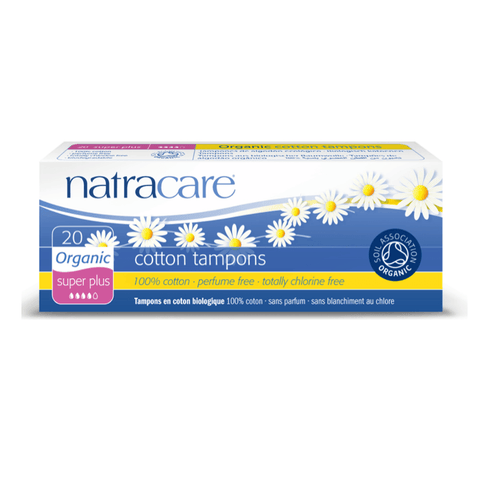 Natracare Tampon Super Plus, 20 stk.