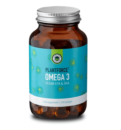 Plantforce Omega 3, Vegansk EPA og DHA, 120 softgels