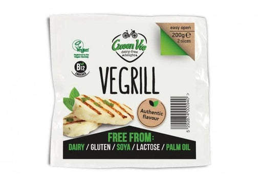 GreenVie Vegril - Vegansk Halumi Ost  200g