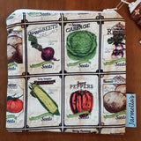 Two Piece Sandwich/Snack Bag Set - Veggies