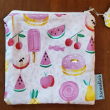Two Piece Sandwich/Snack Bag Set - Fruits
