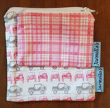 Two Piece Sandwich/Snack Bag Set