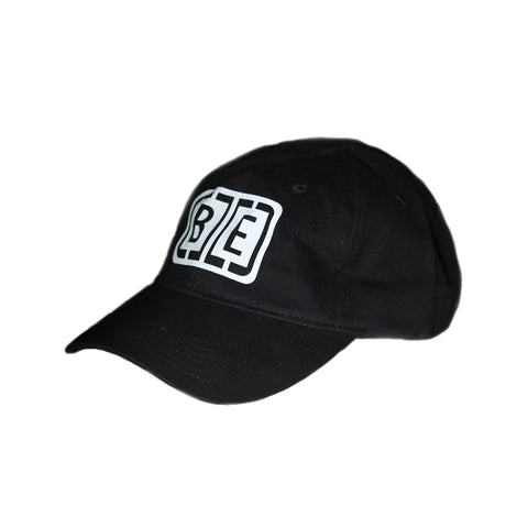 Black Cage Logo 6 Panel Hat - BETWEEN ENEMIES