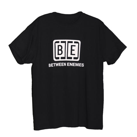 Cage Logo T-Shirt Black - BETWEEN ENEMIES