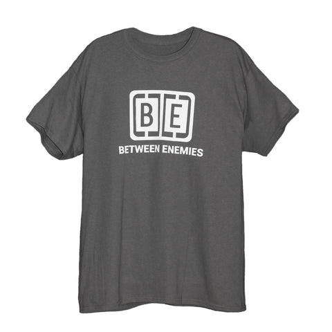Cage Logo T-Shirt Charcoal - BETWEEN ENEMIES