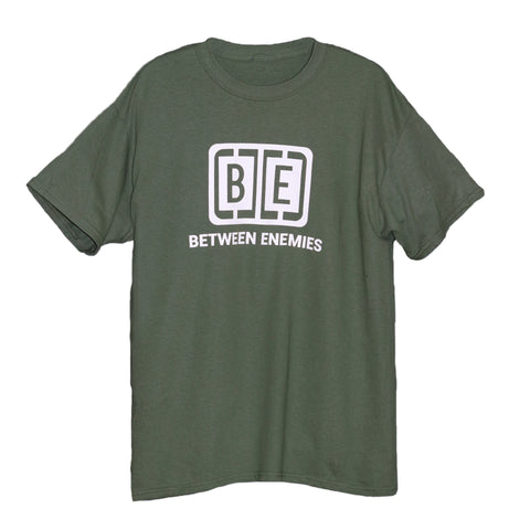 Cage Logo T-Shirt Military green - BETWEEN ENEMIES