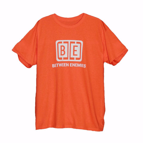 Cage Logo T-Shirt Orange - BETWEEN ENEMIES