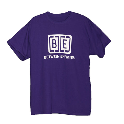 Cage Logo T-Shirt Purple - BETWEEN ENEMIES