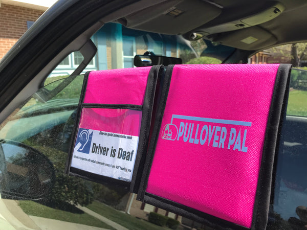 Pullover Pal Organizer - Hot Pink and Black