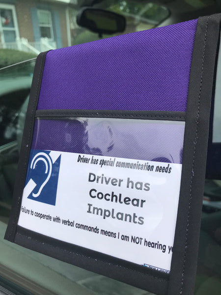 Driver has Cochlear Implant