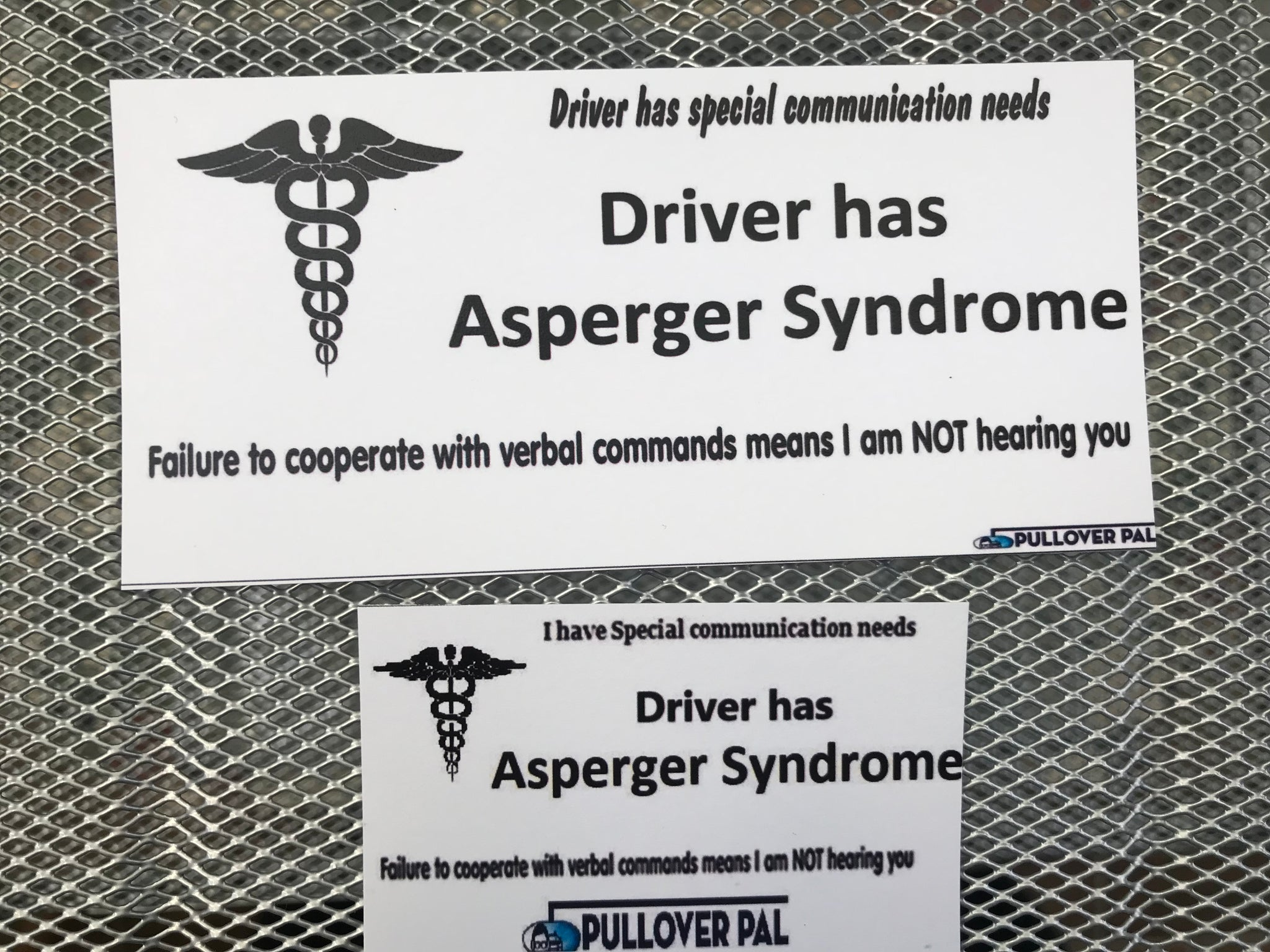 Driver Has Asperger Syndrome