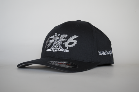Don't Tread on Us -NAVY-  Embroidered Curved - FlexFit