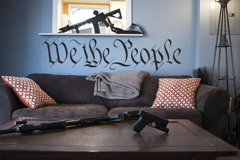 We the People - Wall Decal - Founders Republic LLC
