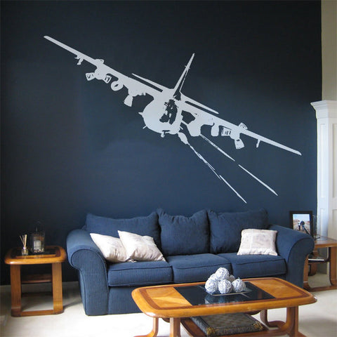 AC-130 - Wall Decal - Founders Republic LLC