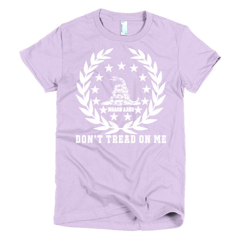 Don't Tread on Me - Women's Shirt USA Made