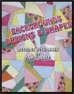 Background Designs & Shapes Sketchbook/DVD