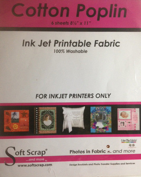 Cotton Poplin Ink Jet Printable Fabric