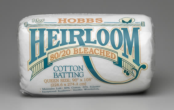 Heirloom® Premium 80/20 Bleached Cotton Blend
