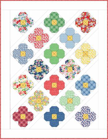 "Bloom Quilt Kit 53"" x 68"""
