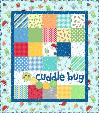 "Kimberbell's Lil' Sprout Quilt Kit - Blue- 31"" x 35"""