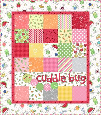 "Kimberbell's Lil' Sprout Quilt Kit- Pink- 31"" x 35"""