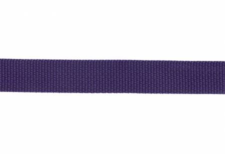 "Polypro Webbing 1"" Purple"