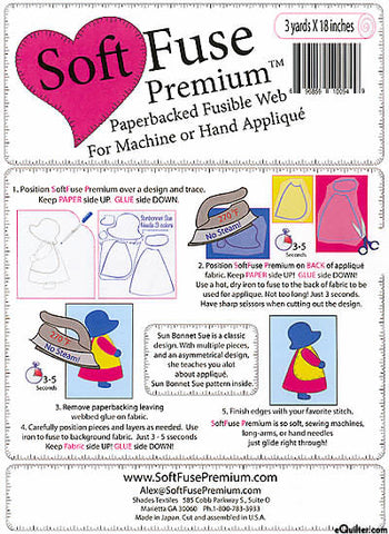 Soft Fuse Premium Backed Fusible Web