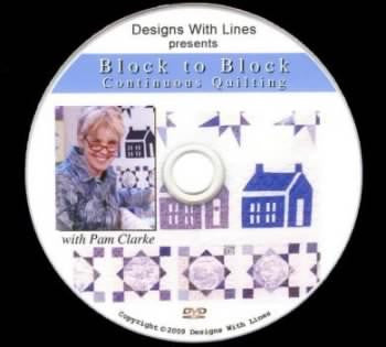 Block to Block Custom Quilting Sketchbook/DVD Combo