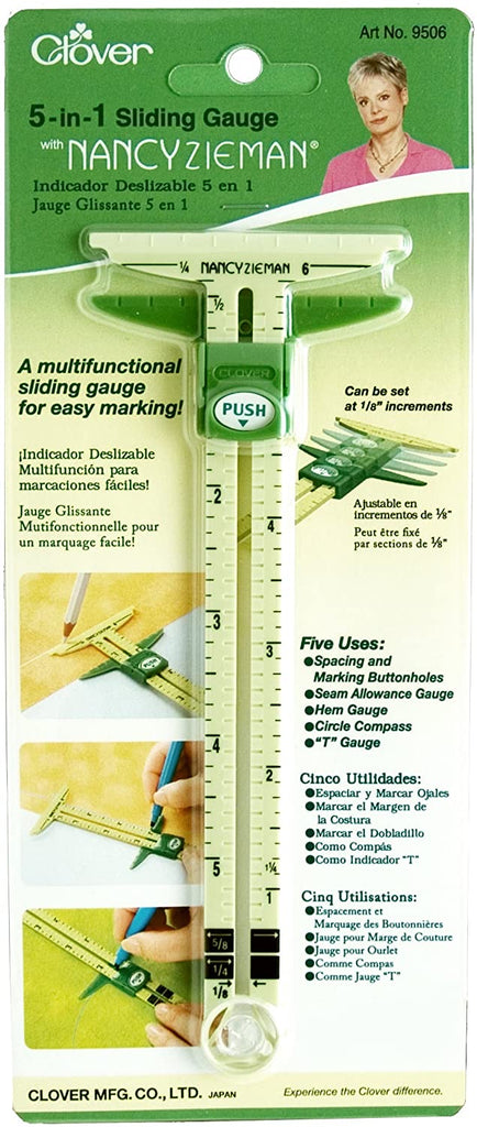 Nancy Zieman 5-in-1 Sliding Gauge