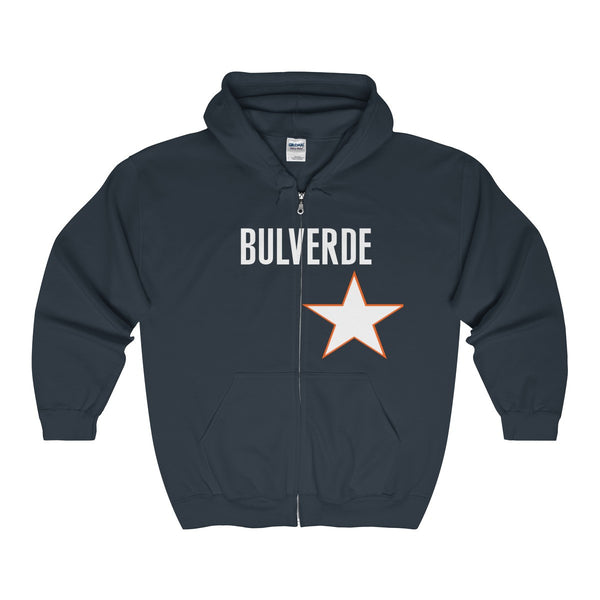 Adult Full Zip Hooded Sweatshirt ( BASEBALL)