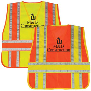 Class 2 Mesh Safety Vest (Adjustable)