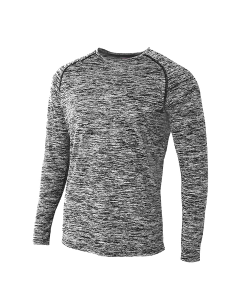 Long Sleeve Raglan Space Dye - Paragon Graphics, LLC