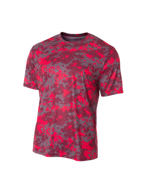 Short Sleeve Camo Performance Tee