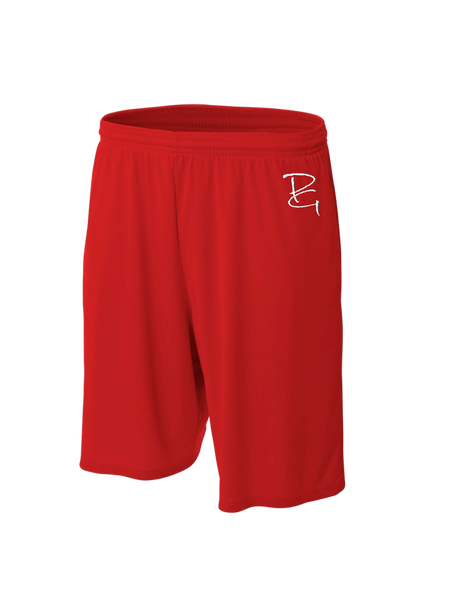 "9"" Moisture Management Short with Side Pockets - Paragon Graphics, LLC"