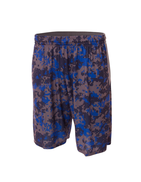 "10"" Camo Performance Short - Paragon Graphics, LLC"