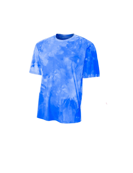 Youth Cloud Dye Tech Tee